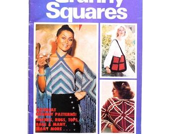 New Idea Granny Squares Crochet Book