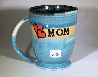 MOTHERS DAY MUG, pottery mug, ceramic mug