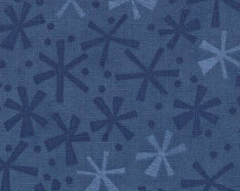 Jenn Ski Fabric, Navy, Ten Little Things by Jenn Ski for Moda Fabrics, 30505-40