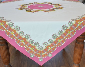 Chicken, Rooster Table Cloth