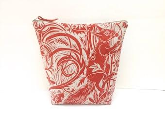 Mark Hearld Squirrel & Sun Project Bag