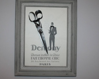 Frame and his tailor scissors