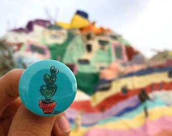 Green Cactus PIN