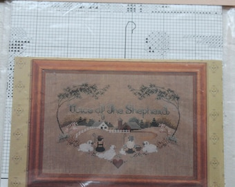 """Told In A Garden """"Voice of The Shepherd"""" Cross Stitch Chart"""