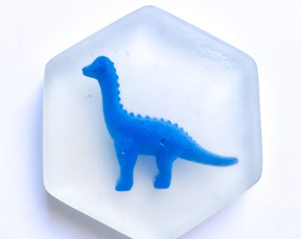 Blue Dinosaur Soap Bar with Lavender Essential Oil