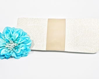 Sale Simply Clutch | Beige Neutral Everyday Clutch | Wedding Clutch | Evening Clutch Purse | Baguette Bag | Bridesmaid Clutch | Bridal Purse