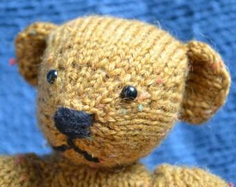 Little Teddy Bear Knitting Pattern