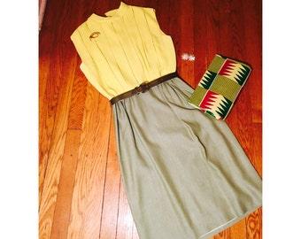 1960s Dress / Carlye Dress / Vintage Dress