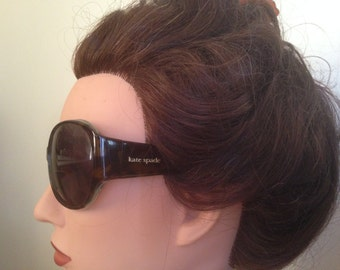 Vintage KATE SPADE Rimona Oversized Eyeglasses/ Tortoise Brown Sunglass or Eyeglasses w RX Prescription Glasses