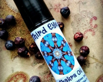 Third Eye Chakra Oil ~ Intuition and Foresight ~ Imagination