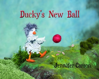 Ducky's New Ball, Story picturebook for young readers