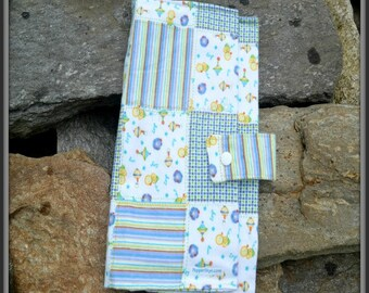 Patchwork with Ducks Diaper Wallet