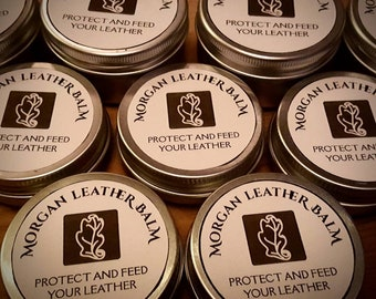 Morgan Leather Balm - Nourishes and Protects Leather