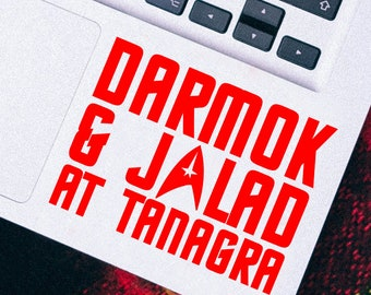 Star Trek Inspired Darmok & Jalad Vinyl Decal Sticker
