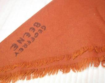 Vintage Geoffrey Beene Wool Triangle Scarf
