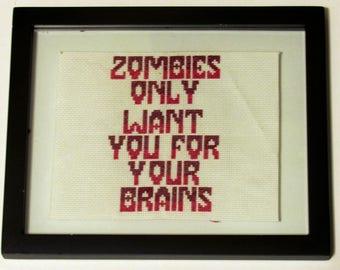Zombies Desire Brains