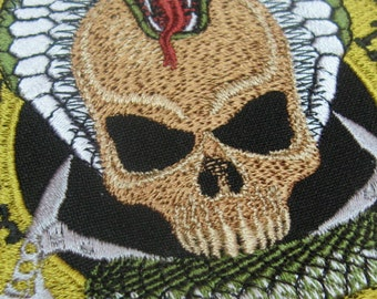 Instand download  Snake&Skull  embroidery design