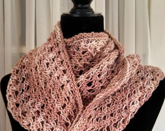 Knitting Loop Scarf : Infinity scarf knit etsy
