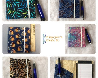 Notepad / memo pad cover - refillable