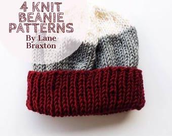Knit Beanie Patterns