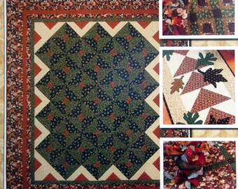 Autumn Garden By Lynette Jensen and Thimbleberries Quilting Pattern Booklet 2006