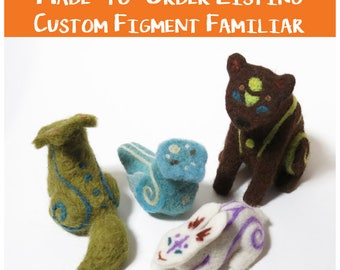 Made-to-Order Figment Familiar - 100% Custom!