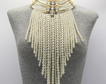 20's Pearl Cascade Necklace