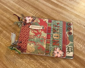 Chipboard Christmas Book