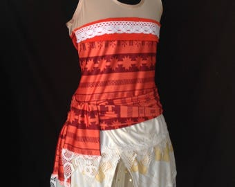 Moana inspired running outfit