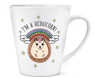 I'm A Hedgicorn 12oz Latte Mug Cup