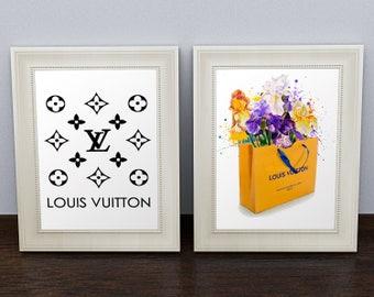 Louis Vuitton Prints. Louis Vuitton Poster. Louis Vuitton Bag. Louis Vuitton Wall Art. Louis Vuitton Sign. Louis Vuitton Decor. LV Art Print
