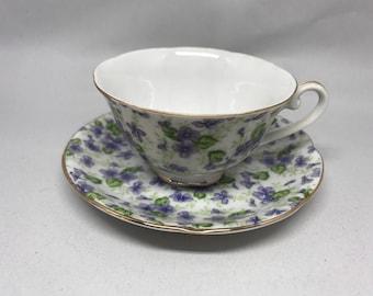 Vintage Lefton China Tea Cup & Saucer