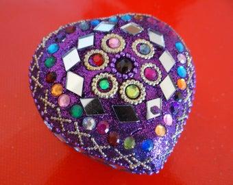 Boxes nesting heart glitter India