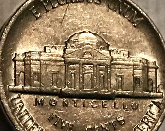 Partial Steps Jefferson Nickel 1984 P AU About Uncirculated. Beautiful coin!