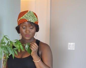 Satin lined African print Headband/ Headtie/ Hair care/ African hair/ Natural hair/ Protection/ Curls/ Edges