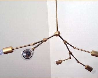 The Branch chandelier - 5 Bulb