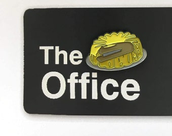 Dwight's Stapler in Jello Enamel Pin (The Office, TV Show)