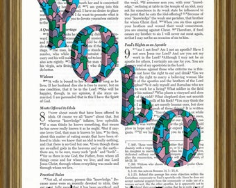 YOLO- (unless you're Jesus) on repurposed Bible page