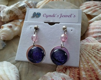 A Soft Color Earrings