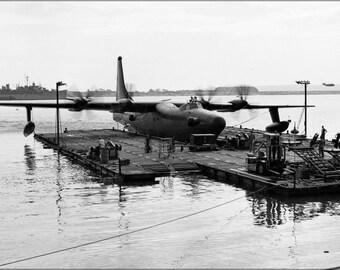 Poster, Many Sizes Available; Convair Xp5Y-1 Tradewind Docks San Diego, California 1950