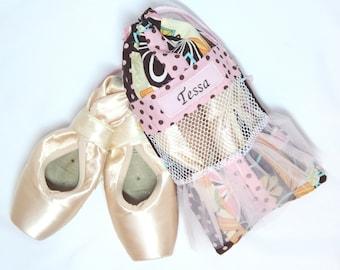 Pointe shoe bag
