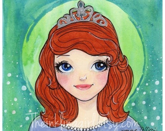 Sofia the First Petite Painting
