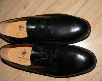 1990s french army dress shoes, NOS, never worn  EU 45 / US  11