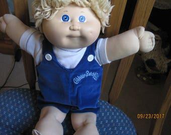 Vintage Cabbage patch Boy Doll 1978-82