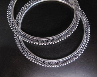 Silver Sterling Bangle, Bracelet, Tribal Bracelet, Ethnic Bracelet, Silver Bracelet, Tribal silver bracelet, tribal silver antique style