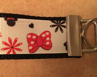 Disney Minnie Mouse Bows and Heels Key Fob