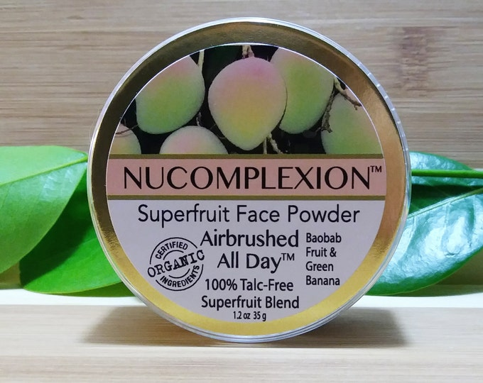 Superfruit (TM) Face Powder - Airbrushed All Day - by NuComplexion Organic Beauty