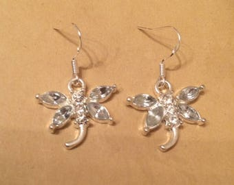 Sparkly Dragonfly earrings