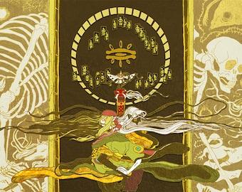 """11x17"""" Print: Mononoke"""