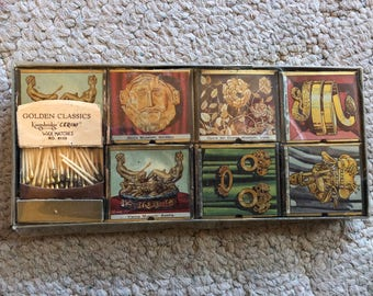 Vintage Wax Matches